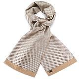 Mailando Herren Geschenkset mit Kaschmir Schal, Krawatte und 2x Einstecktuch in hochwertiger Geschenkbox -