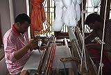 LORENZO CANA Luxus Schal Schaltuch 100% reines Kaschmir gewebt Kaschmirschal Kaschmirtuch Kaschmirpashmina Cashmere Paisley Blau Rot 7836411 -